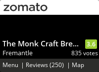 The Monk Craft Brewery & Kitchen Menu, Reviews, Photos, Location and Info - Zomato