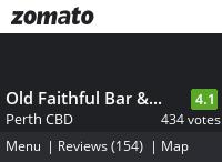Old Faithful Bar & BBQ Menu, Reviews, Photos, Location and Info - Zomato