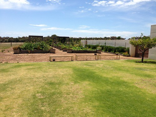 Eagle Bay Brewery veggie patch