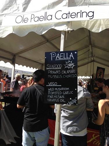 Ole Paella Catering - Gourmet Village