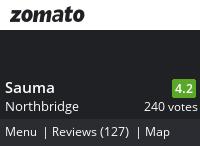 Sauma Menu, Reviews, Photos, Location and Info - Zomato