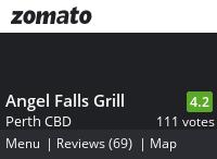 Angel Falls Grill Menu, Reviews, Photos, Location and Info - Zomato